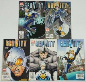 Gravity #1-5 VF complete series - marvel comics - sean mckeever set lot 2 3 4