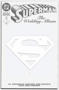 SUPERMAN:THE WEDDING ALBUM (Collectors ' Edition) 1996 A Who's Who of Artists!