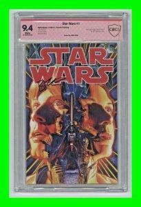 Star Wars #1 2013 Dark Horse [Fourth Printing] Signed Brian Wood CBCS 9.4