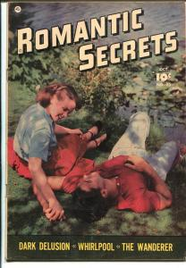 Romantic Secrets #23 1951-Fawcett-photo cover-lurid stories-excellent art-VG