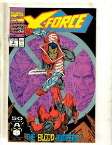 X-Force # 2 NM Marvel Comic Book 2nd Deadpool Appearance Cable Domino X-Men JF23