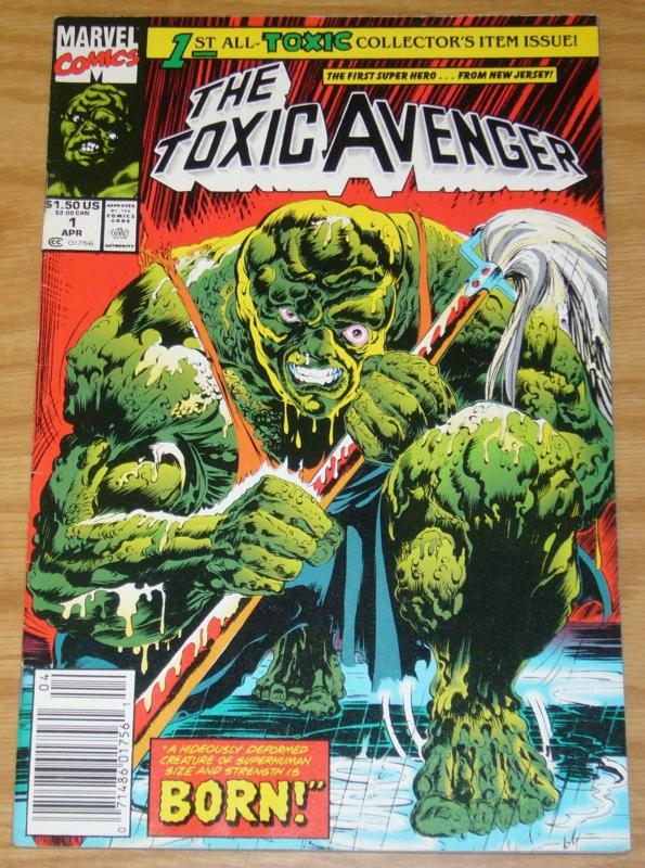 Toxic Avenger #1 FN newsstand 1st Appearance / Origin of Toxic Avenger marvel