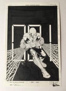 Amazing Spider-man 548 Original Cover Art Steve Mcniven Dexter Vines