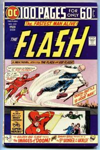 FLASH  #232 1973 Golden-Age Flash 100 page giant vf-