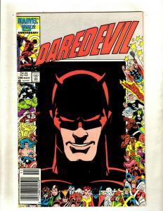 11 Daredevil Marvel Comic Books #236 244 245 250 252 257 259 260 261 262 272 HY2