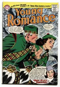YOUNG ROMANCE #136 1964-DC ROMANCE-Bonnie Taylor-VF