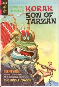KORAK SON OF TARZAN 22 FINE 1968 COMICS BOOK