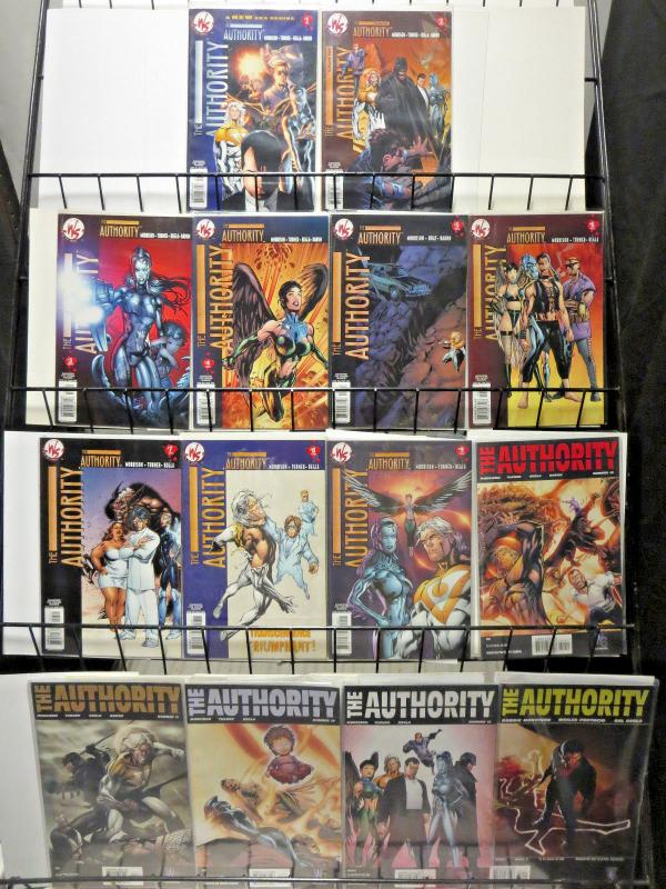 AUTHORITY Lot of 44 comic books Wildstorm DC Ellis Morrison Millar VF+ 1999-2009