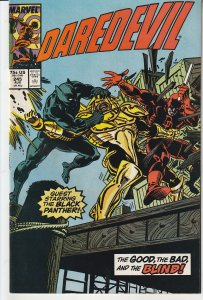 Daredevil(vol. 1)# 245  The Black Panther !