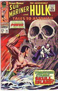 Tales to Astonish #96 (Oct-67) FN/VF+ Mid-High-Grade Incredible Hulk, Namor