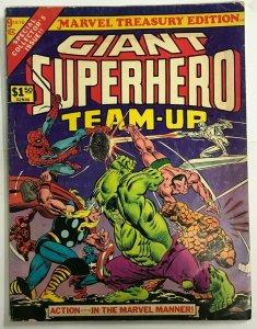 GIANT SUPERHEROES TEAM-UP TREASURY VG/FN 1976 MARVEL BRONZE AGE COMICS