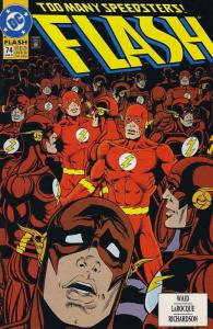 Flash (2nd Series) #74 VF; DC | save on shipping - details inside