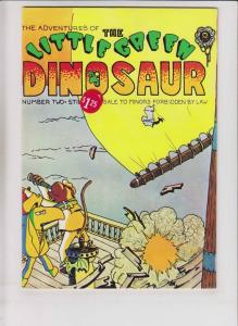 Adventures of the Little Green Dinosaur #2 VF/NM (1st) print underground comix