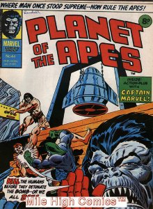 PLANET OF THE APES MAGAZINE (UK) (1974 Series) #44 Very Fine