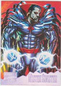1995 Marvel Masterpieces Holoflash #5 Mister Sinister