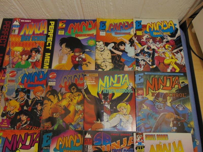 45 Ben Dunn Perry Ninja Highschool English Manga Comic Books #37 Girls SB + +
