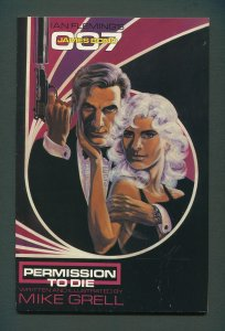 James Bond Permission to Die #1  /  8.0 VFN  /  July 1991