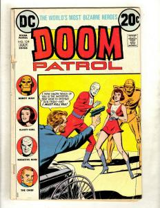 Lot Of 5 Doom Patrol DC Comic Books # 124 1 + Showcase # 94 95 96 TV Show GK5