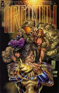 ARCANUM (1997 TOP COW) 1-1A  set of both variant covers
