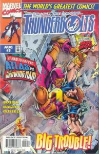 Thunderbolts (1997 series) #5, NM + (Stock photo)