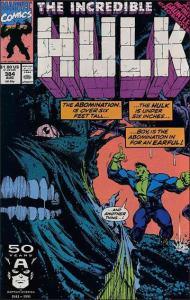 Marvel THE INCREDIBLE HULK (1968 Series) #384 VF/NM