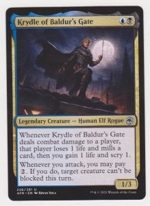 Magic the Gathering: Adventures in the Forgotten Realms- Krydle of Baldur...