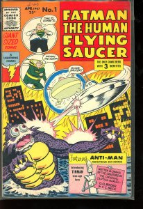 Fatman the Human Flying Saucer #1 (1967)