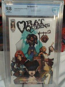 Rat Queens #1 - CBCS 9.8 - NM/MINT - 2013 - 1st Appearance of Rat Queens