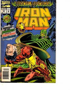 Lot Of 2 Iron Man Marvel Comic Books #311 312 Thor DC1