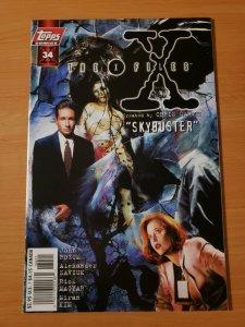 The X-Files #34 ~ NEAR MINT NM ~ 1997 Topps Comics