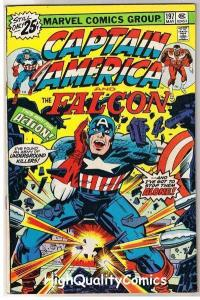CAPTAIN AMERICA #197, FN, Jack Kirby, Falcon, 1968, more Marvel in store