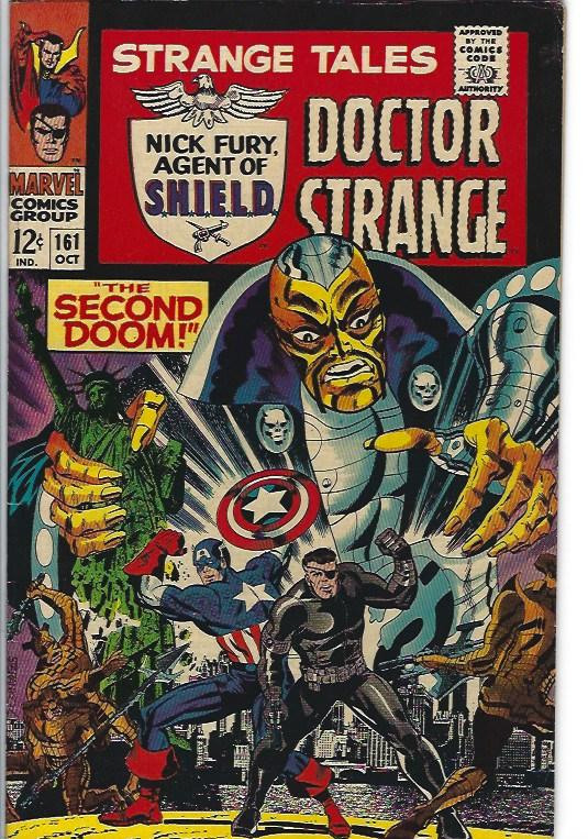 strange tales #161$30.00 fine