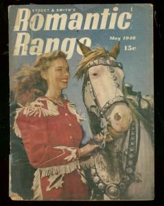 ROMANTIC RANGE MAY 1946-DIGEST SIZE PULP-PHOTO COVER G