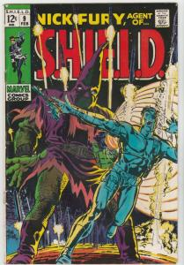 Nick Fury Agent of S.H.I.E.L.D. #9 (Feb-69) VG/FN+ Mid-Grade Nick Fury, S.H.I...
