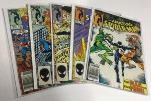 Amazing Spider-Man 266 267 268 269 270 Nm- Near Mint- Marvel Comics