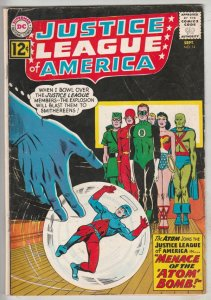 Justice League of America #14 (Sep-62) FN+ Mid-High-Grade Justice League of A...