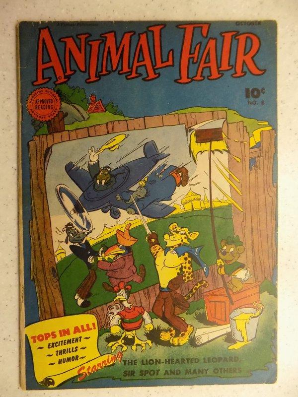 Animal Fair #8 (1946)