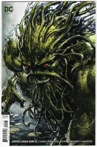 Justice League Dark #12 Clayton Crain Variant Cvr (DC, 2019) NM