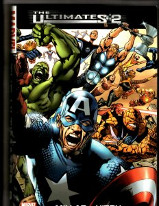 The Ultimates 2 Marvel Comics Graphic Novel HARDCOVER 1st print 2007 Avenger HR8
