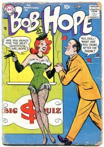 Adventures of Bob Hope #52 1958- DC Teen Humor F/G