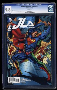 Justice League Of America (2015) #1 CGC NM/M 9.8 Superman Variant Cover!