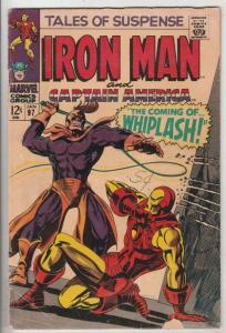 Tales of Suspense #97 (Jan-68) VG+ Affordable-Grade Iron Man, Captain America