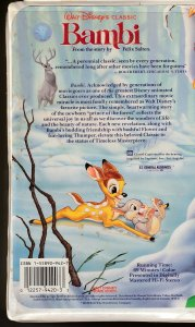 Walt Disney Black Diamond Classics, Bambi