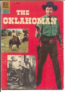 The Oklahoman-Four Color Comics #820 1957-Dell-McCrea-Jenny-G/VG