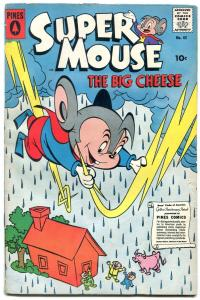 SUPER MOUSE #45 1958-PINES COMICS-ELUSIVE FINAL ISSUE VG/FN