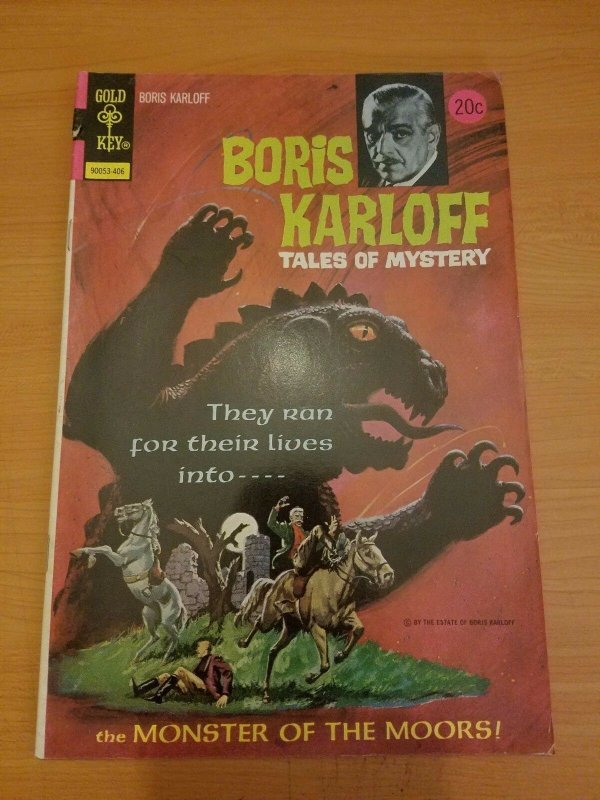 Boris Karloff Tales of Mystery #54 ~ VERY GOOD - FINE FN ~ (1974, Gold Key)