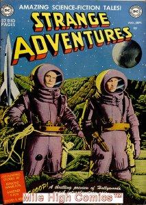 STRANGE ADVENTURES (1950 Series)  (DC) #1 Fine Comics Book