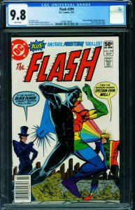 Flash #299 CGC 9.8 DC Newsstand variant cover 1981 2038138005