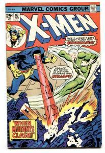 X-MEN #93 1975-QUICKSILVER-CYCLOPS-BRONZE AGE- VG