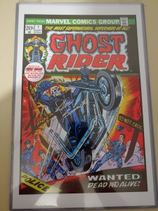 GHOST RIDER #1  print signed by Joe Sinnot w/coa Measures 11x17 Ships in Oversiz